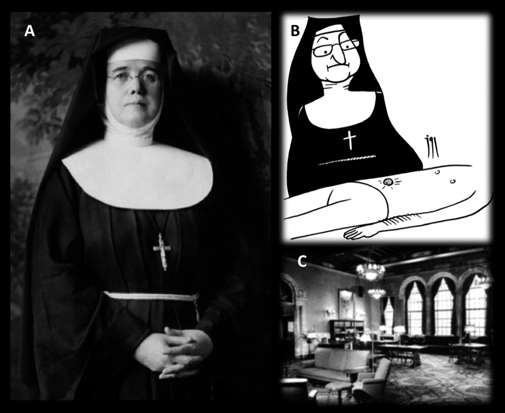Sister Mary Joseph's nodule: from the history to the images  A case